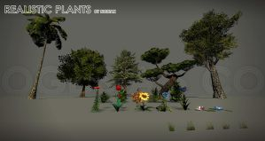 OGDS Realistic plants by Yughues