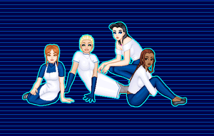 TF2 Made Maid Group BLU by MobMotherScitah