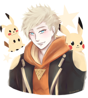 Team Instinct: Spark by Elvenrain
