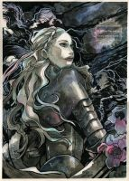 Eowyn - LOTR Fan art by nati