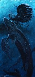 Cretaceous Leviathan and Krakens by tuomaskoivurinne