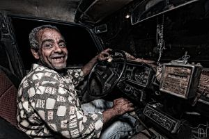 One of Alexandria Old Taxi Drivers... by nader-tharwat