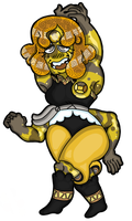 Yellow Crazy Lace Agate by CyclopsBurger