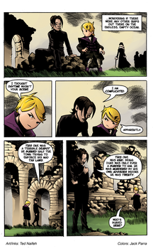 Courtney Crumrin Prince of Nowhere Pg17 by SmilinJack