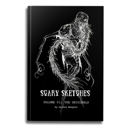 SCARY SKETCHES - Volume 01: The Originals by AustenMengler