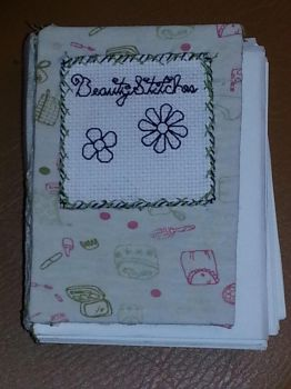 BCD: Flowers Mini Blank Book by t0pd0g4evr
