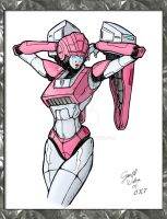 Arcee Pinup by OracleX7