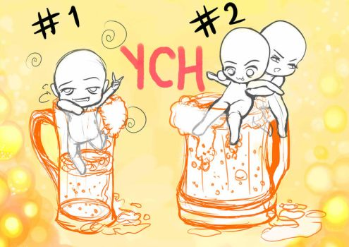 YCH 4- Beer! Little Drunks [CLOSED] by Complicada