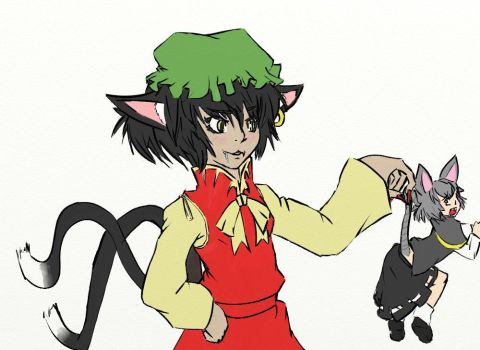 Nazrin catched by Gensolink