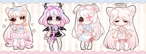 +[lowered] Starry Adoptables [ CLOSED] (0/4) + by Hunibi