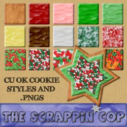 Sugar Cookie Styles and pngs by debh945