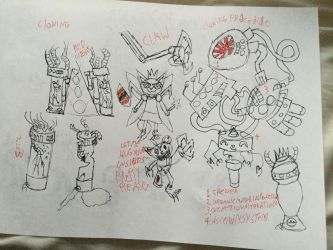 Cloning horror tooniverse wip 2 by CaTwdaesd