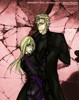 re_jillxwesker_oblivion love by FiammahGrace