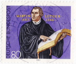 Martin Luther / Protestant reformer 1983 by polfrey