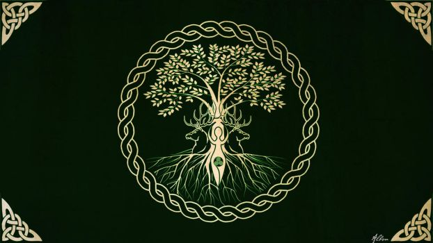 The Tree - Wallpaper Version by The-Pagan-Gallery