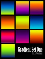 Gradient Set One by s3vendays