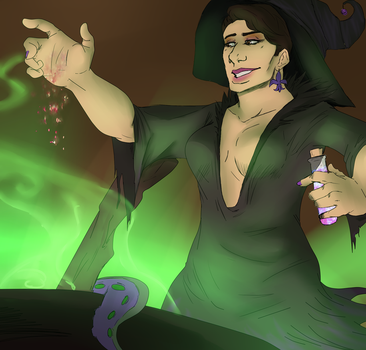 Saints row Halloween DAY 30: Witch Bridget by petplayer976