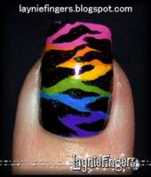 Pride of the Wild Nails Close by mslaynie