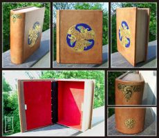 Wooden Book Box by Siobhan68