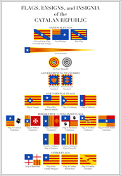 Flags of Catalonia by HouseOfHesse