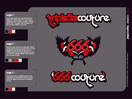666courture logo by 54NCH32 by 54NCH32