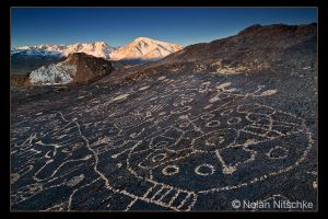 Eastern Sierra Petroglyph by narmansk8