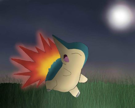 A wild Cyndaquil appeared! by BottleNeckBabe