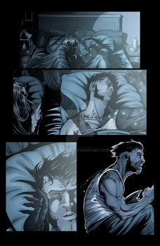 Sequential Coloring The Changer # 2 Page 18. by BouncieD
