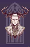 Thranduil of the Forest by RedStarship