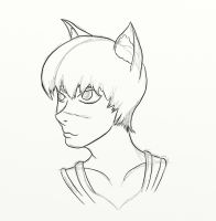 Quick Catboy WIP by mistformsquirrel