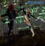 Black Widow vs Christie by WOLFBLADE111