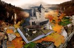 Fairytales are real (Castle in Bedzin) by re-pip