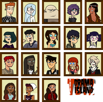 Total Drama Island 2 Cast by The-Queen-of-Glamour