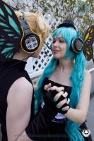 Miku and Len: Everything by VandorWolf
