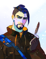 Casual Hanzo by quintilli0n