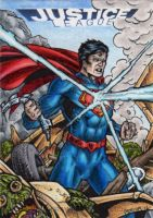 DC: Justice League - Superman by tonyperna
