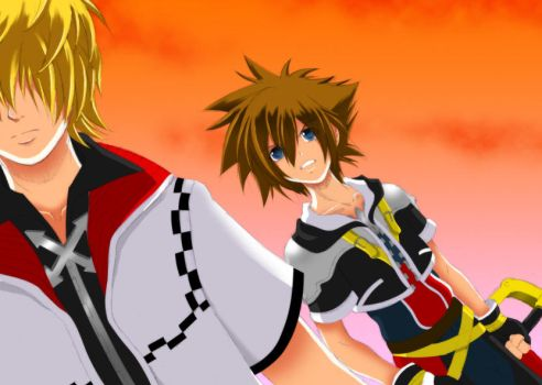 Kingdom Hearts: Between Us by WeirdCircus9