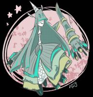 UB blaster aka celesteela but with transparency