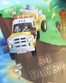 Sun Moon countdown! by LittleSpringroll