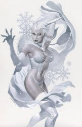 Emma Frost returns by ChristopherStevens