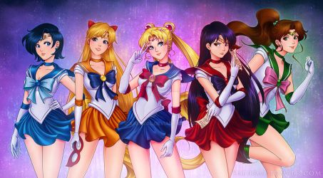 Sailor Planet Power by Saehral