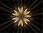 PURE GOLD FRACTAL WALLPAPER by a2j3
