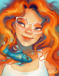 Goldfish by GDBee