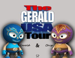 G-USA Tour Opening Graphic by simplemanAT