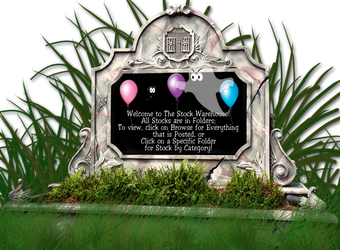Gravestone Marker StockWarehouse Welcome by TheStockWarehouse