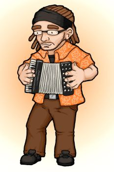 The Accordionist by DonKirin