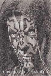 014/365 - Darth Maul by BikerScout