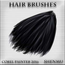 Hair brushes(Corel Painter 2016) by hong-hui-lin-shenmu