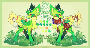 {Auction} - Spring Leaf (closed) by PhloxeButt