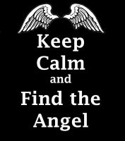 Keep Calm and Find the Angel by liasid
